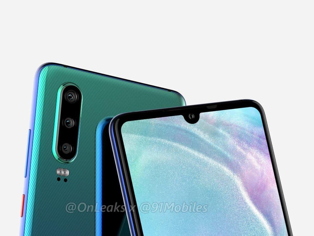 Huawei P30 Pro Design und Aussehen