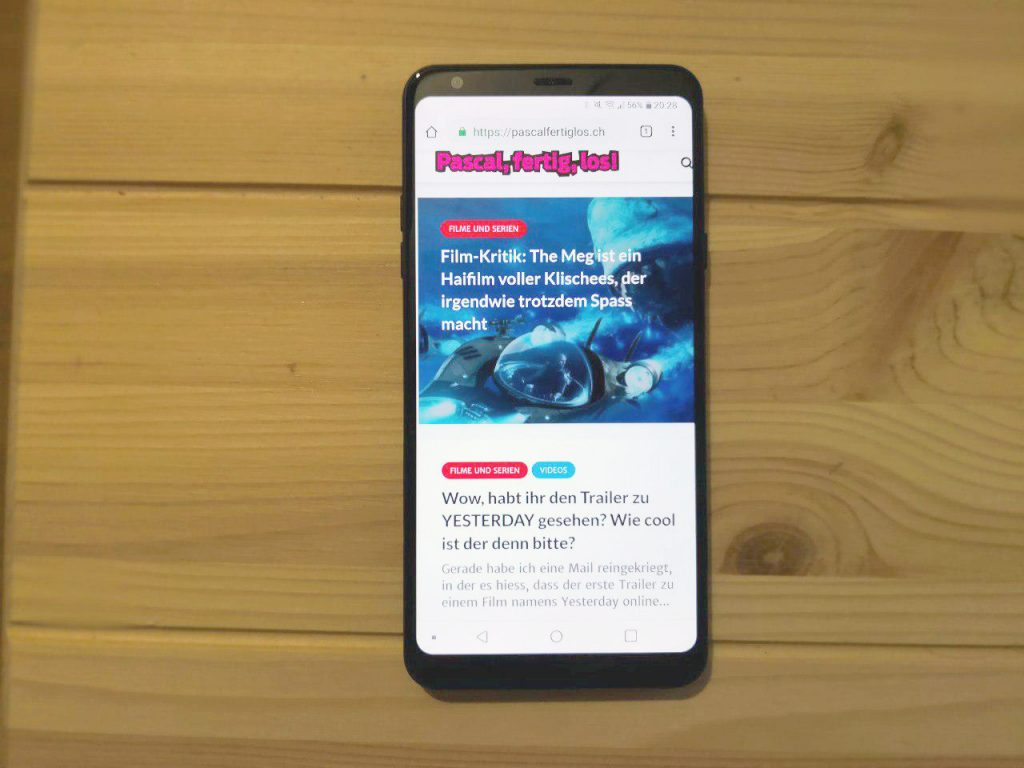 Smartphone LG Q Stylus Test/Review