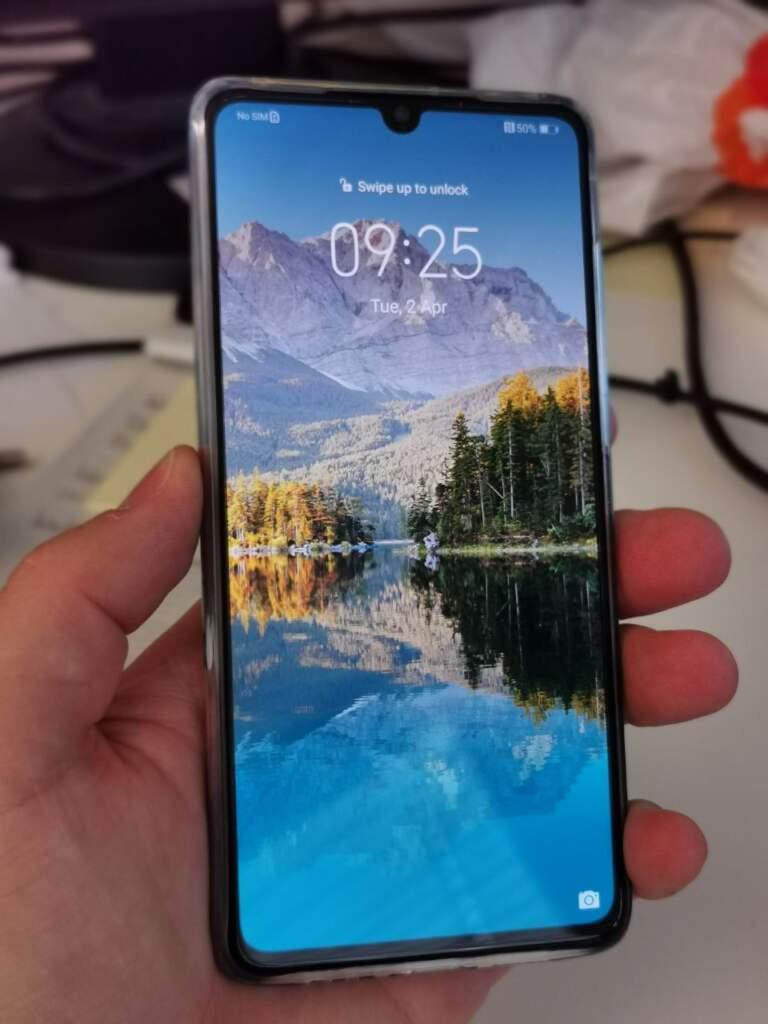 Huawei P30 Vorderseite Ansicht