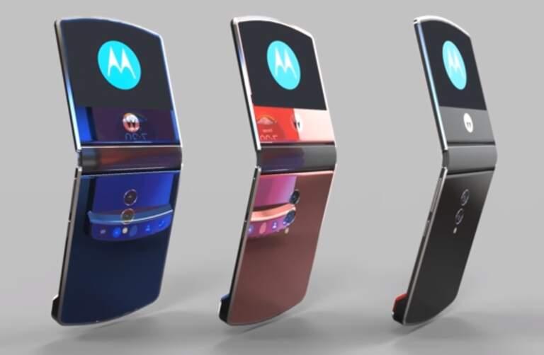 Motorola Razr V4 Klapp-Smartphone