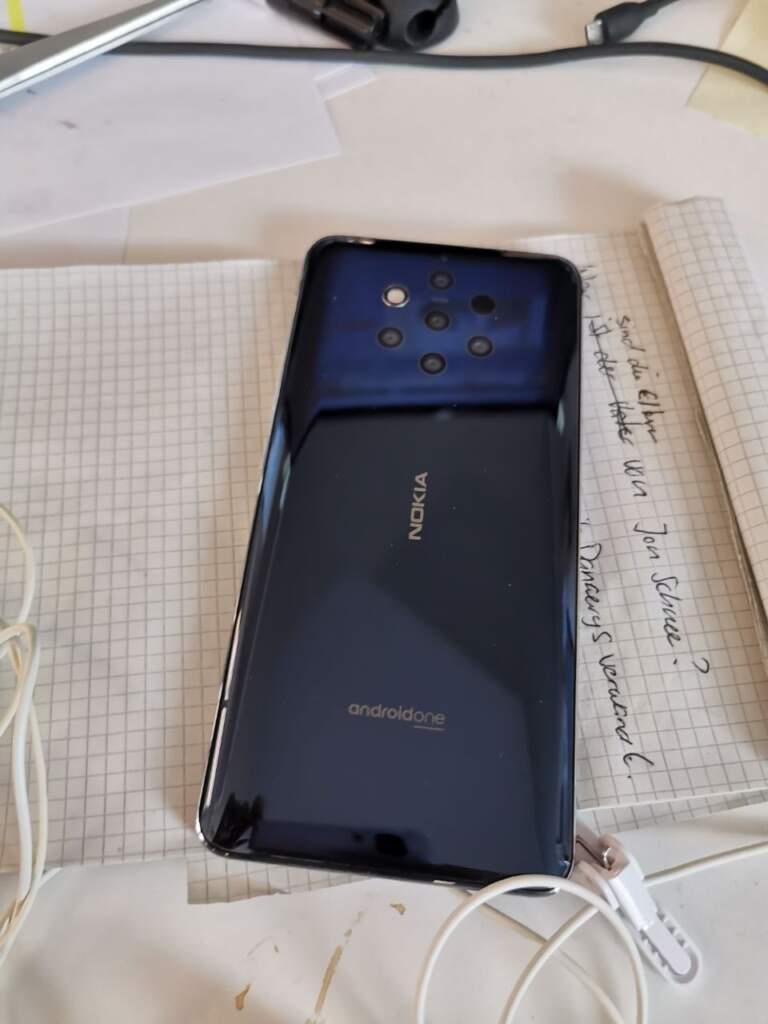Nokia 9 Pure View Rückseite Ansicht