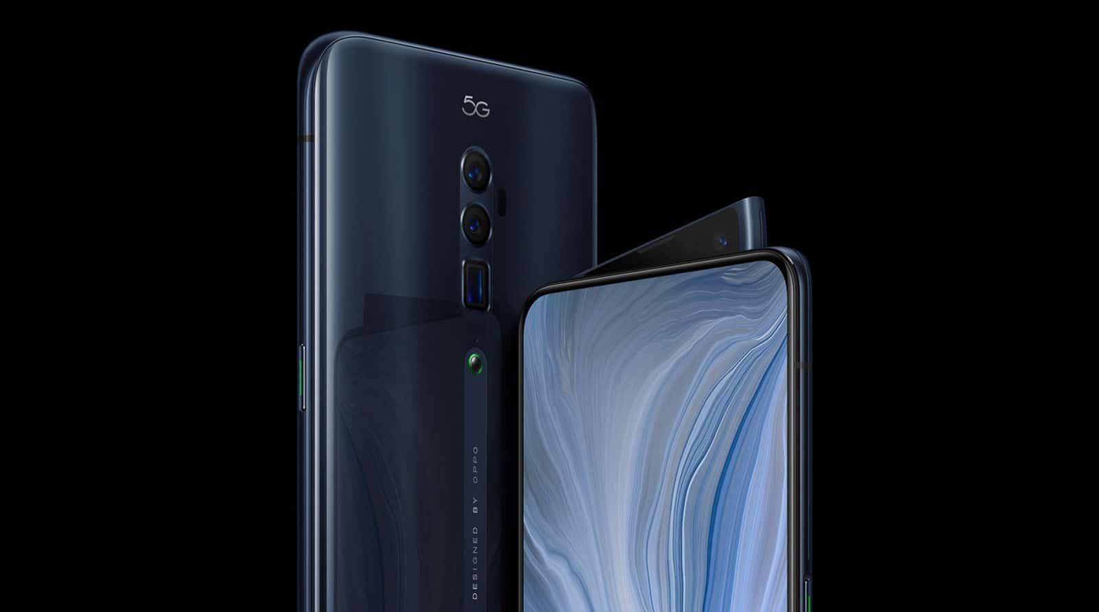 Oppo Reno 5G-Smartphone mit super Kamera