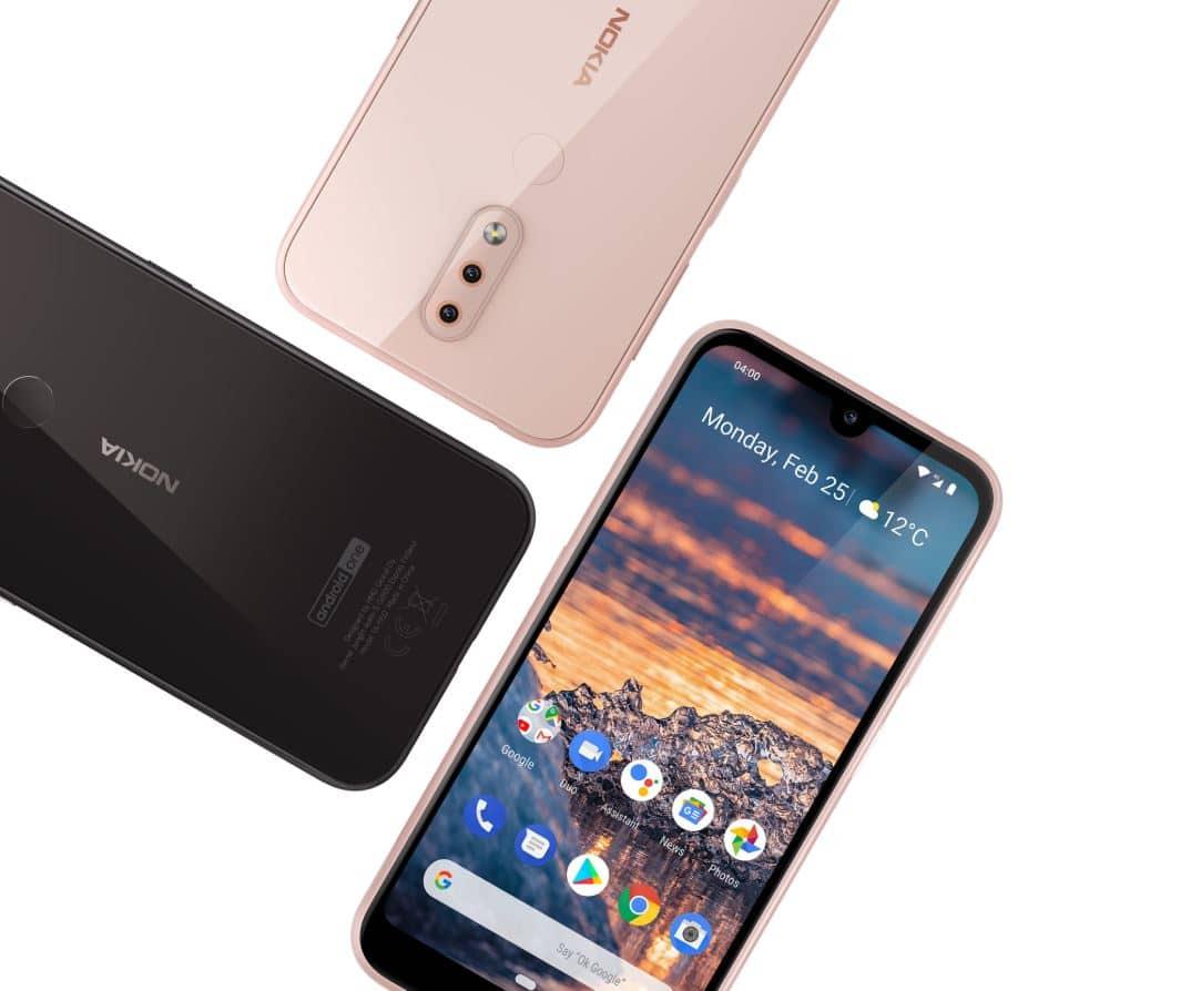 Nokia 4.2 von HMD Global Promo-Bild