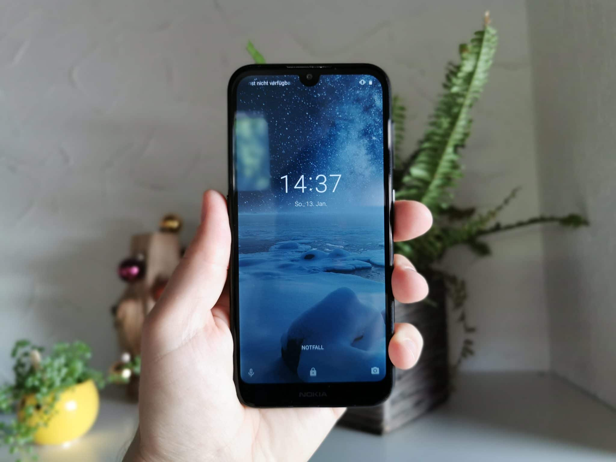 Nokia 4.2 Hands-On Vorderseite