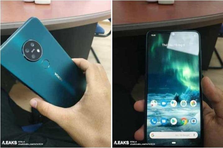 Nokia 7.2 Design Leak
