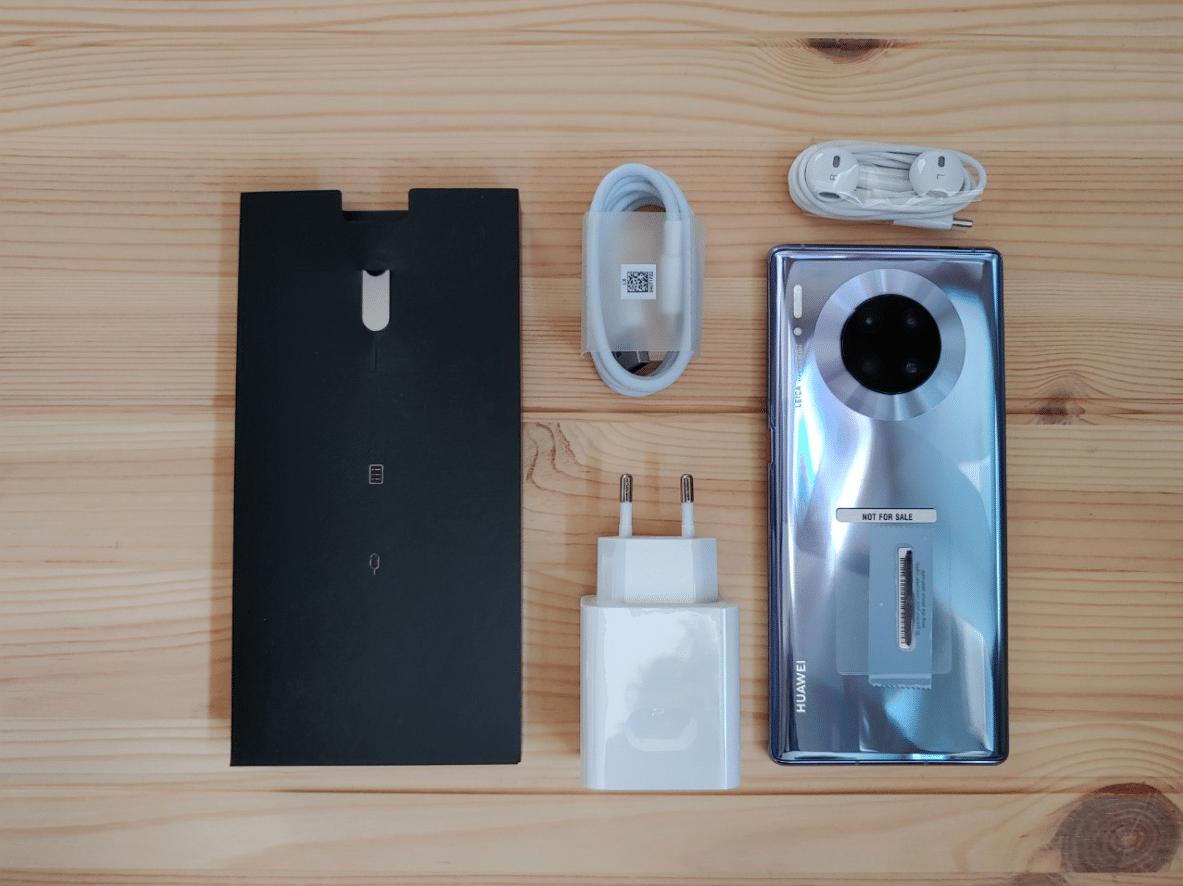 Huawei Mate 30 Pro Packungsinhalt Hands-On