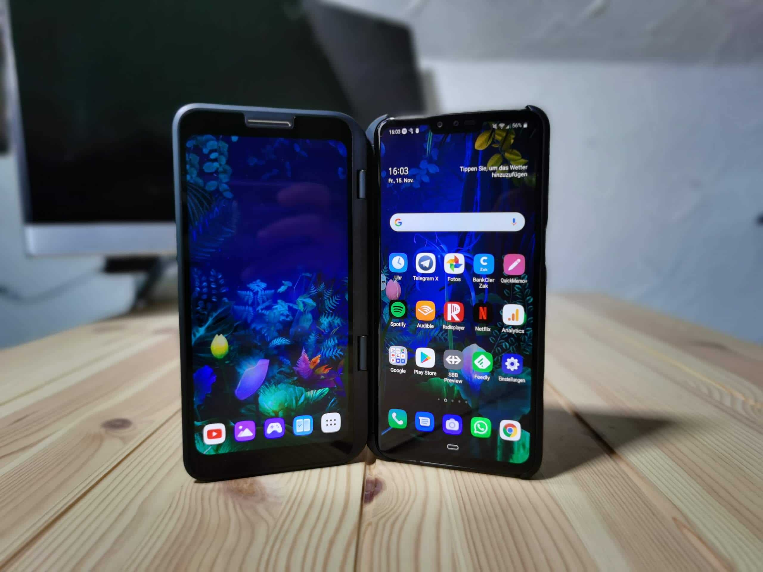LG V50 ThinQ 5G Dual Screen Test