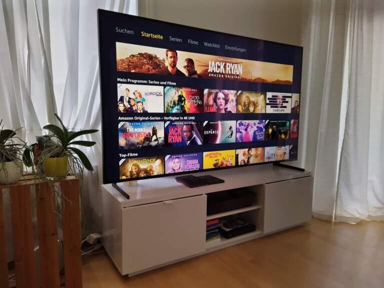 Samsung 8k TV Q900 75 Zoll