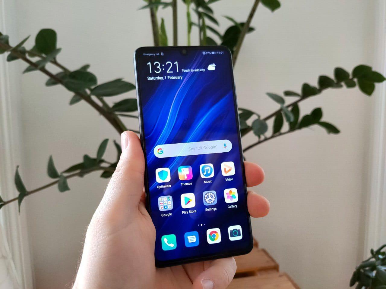 Huawei P30 Handy / Smartphone Display