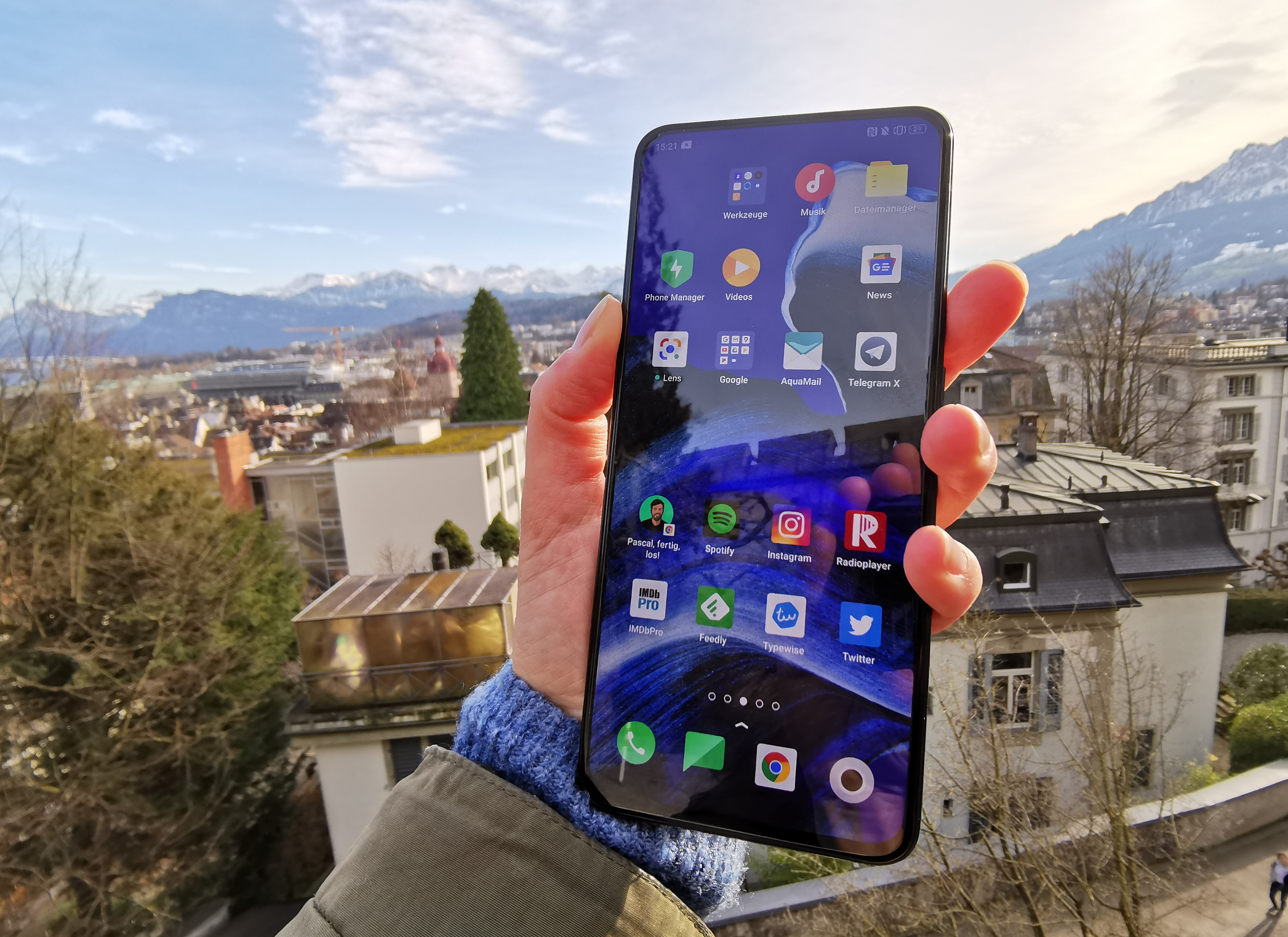 Oppo Reno 2 Display Vorderseite