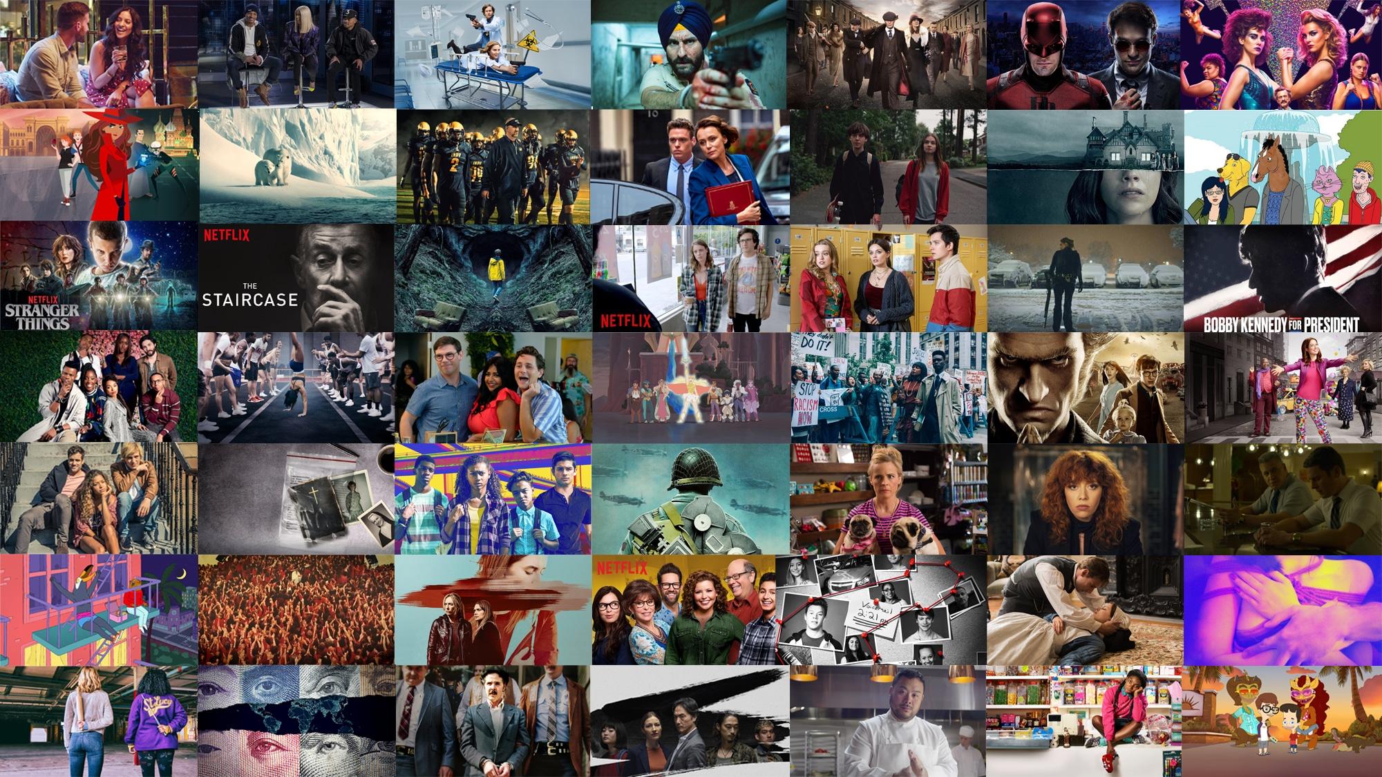 Die besten 50 Netflix-Serien