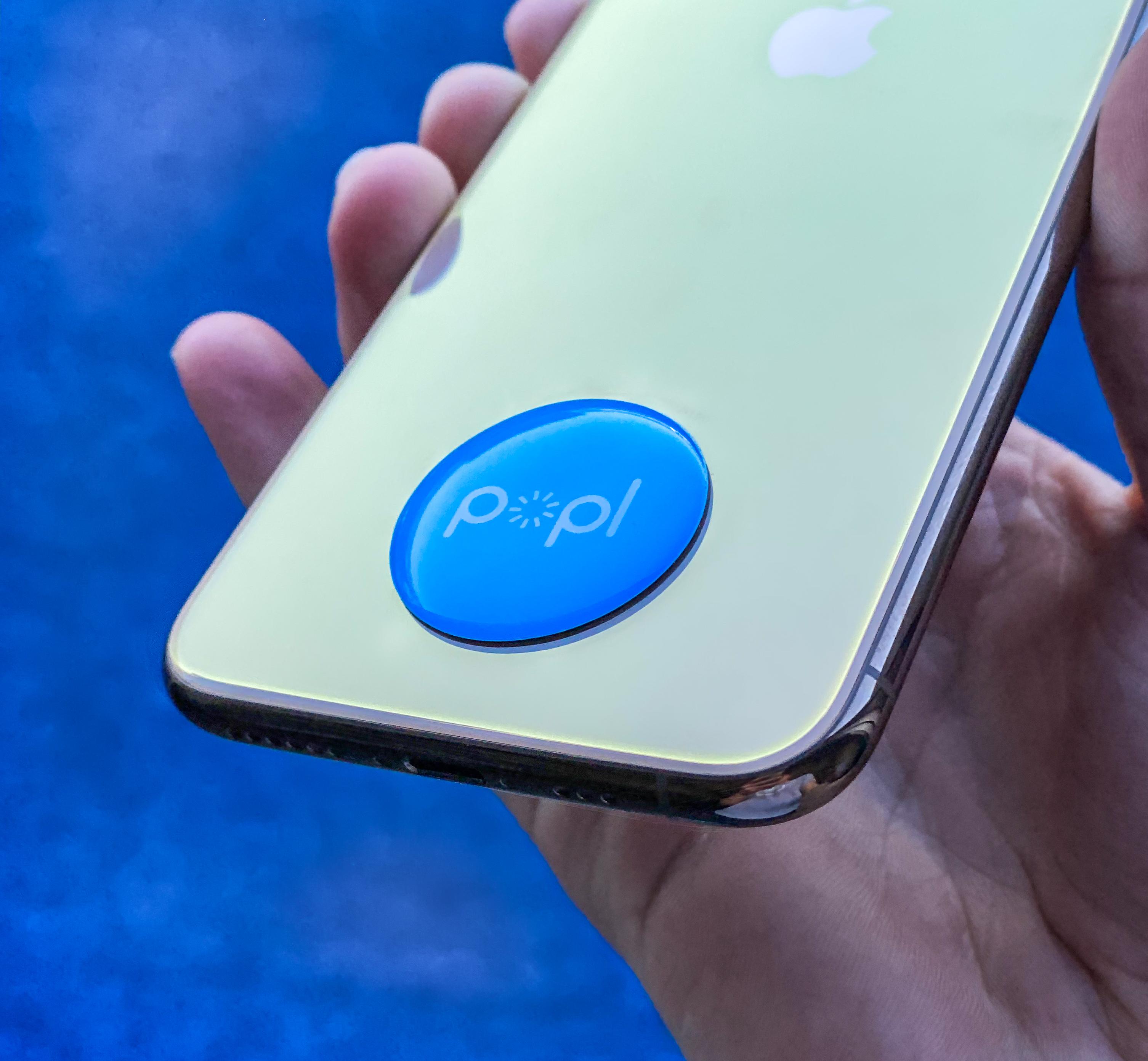 Popl NFC Chip Soziale Medien übertragen