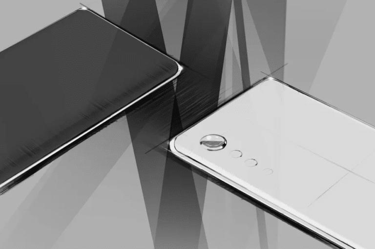 LG Smartphone neues Design