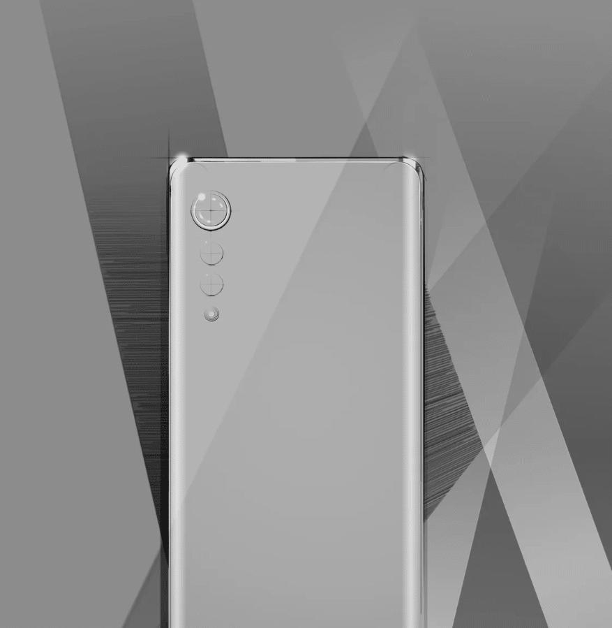 LG Smartphone Raindrop Kamera neues Design
