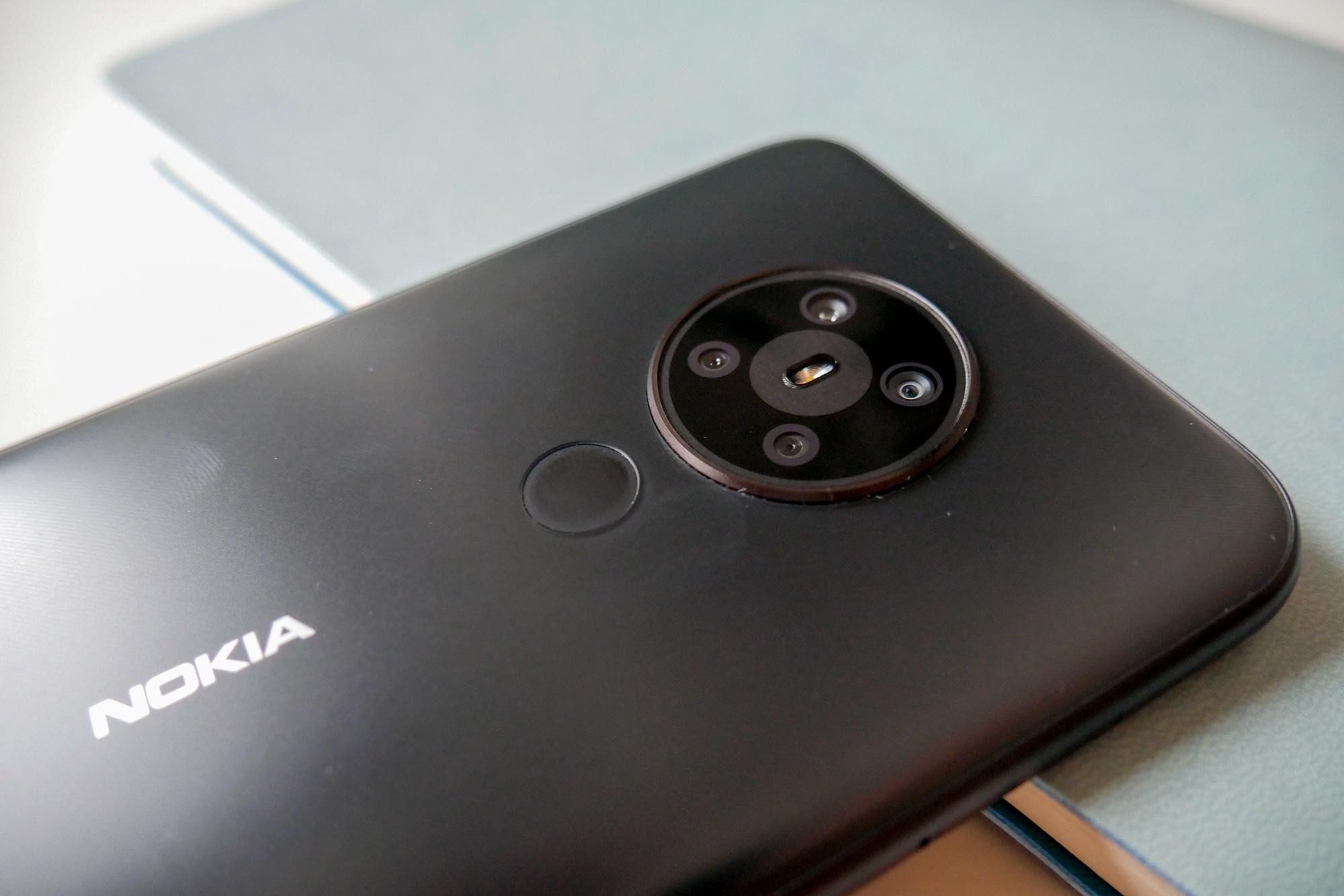 Fingerabdrucksensor des Nokia 5.3.