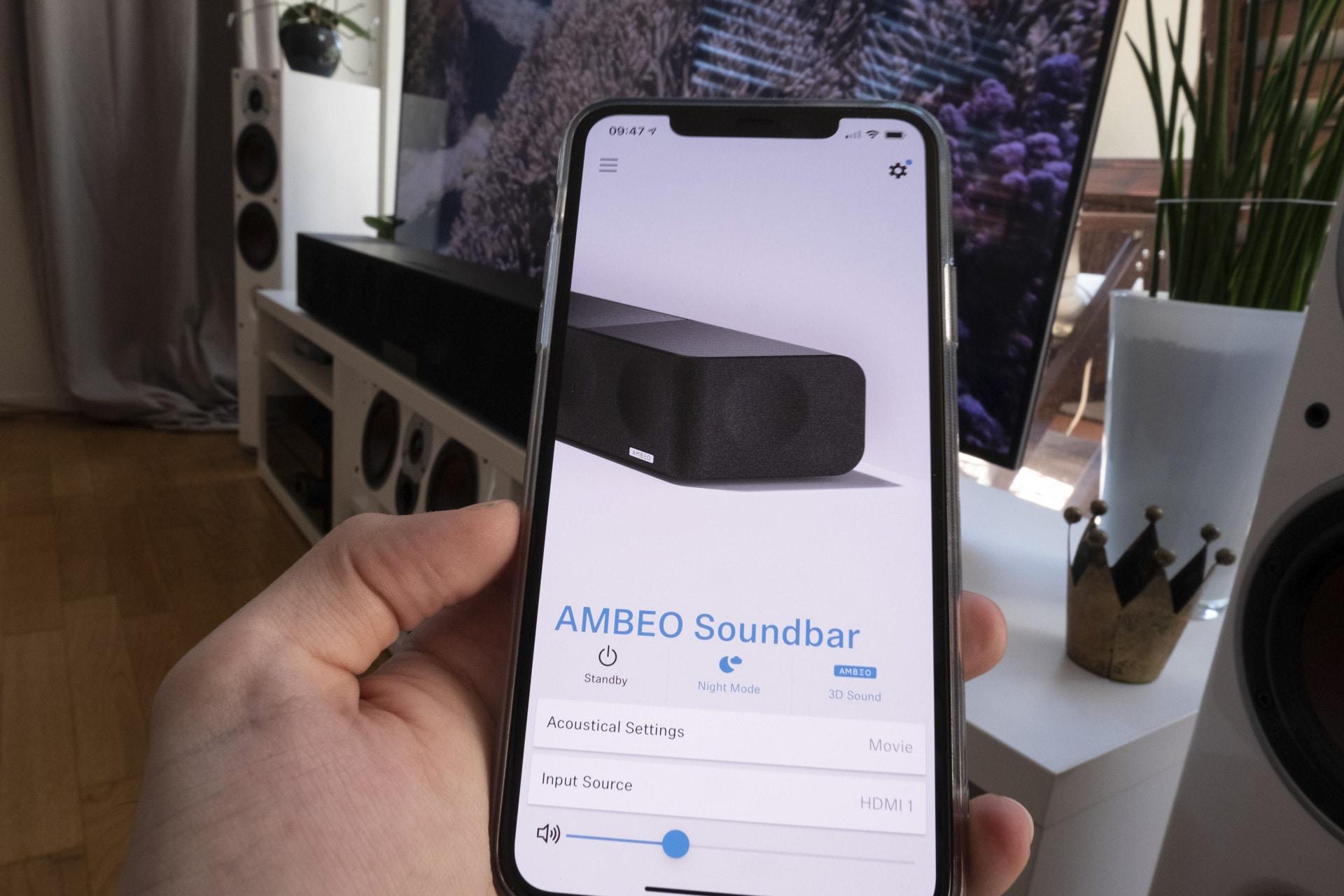 App für die Soundbar von Sennheiser
