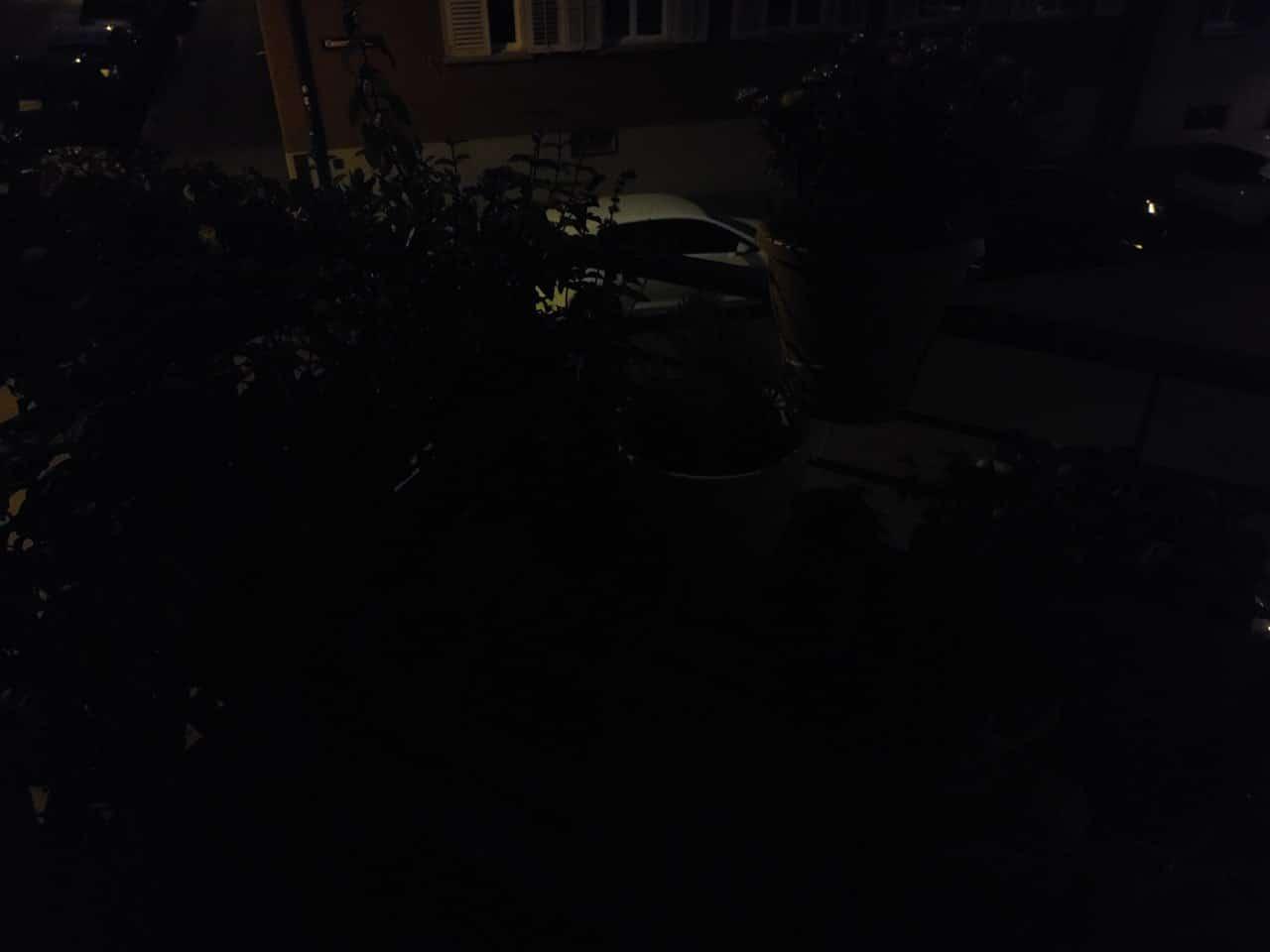 LG Vevlet Nachtaufnahme ohne Nachtmodus