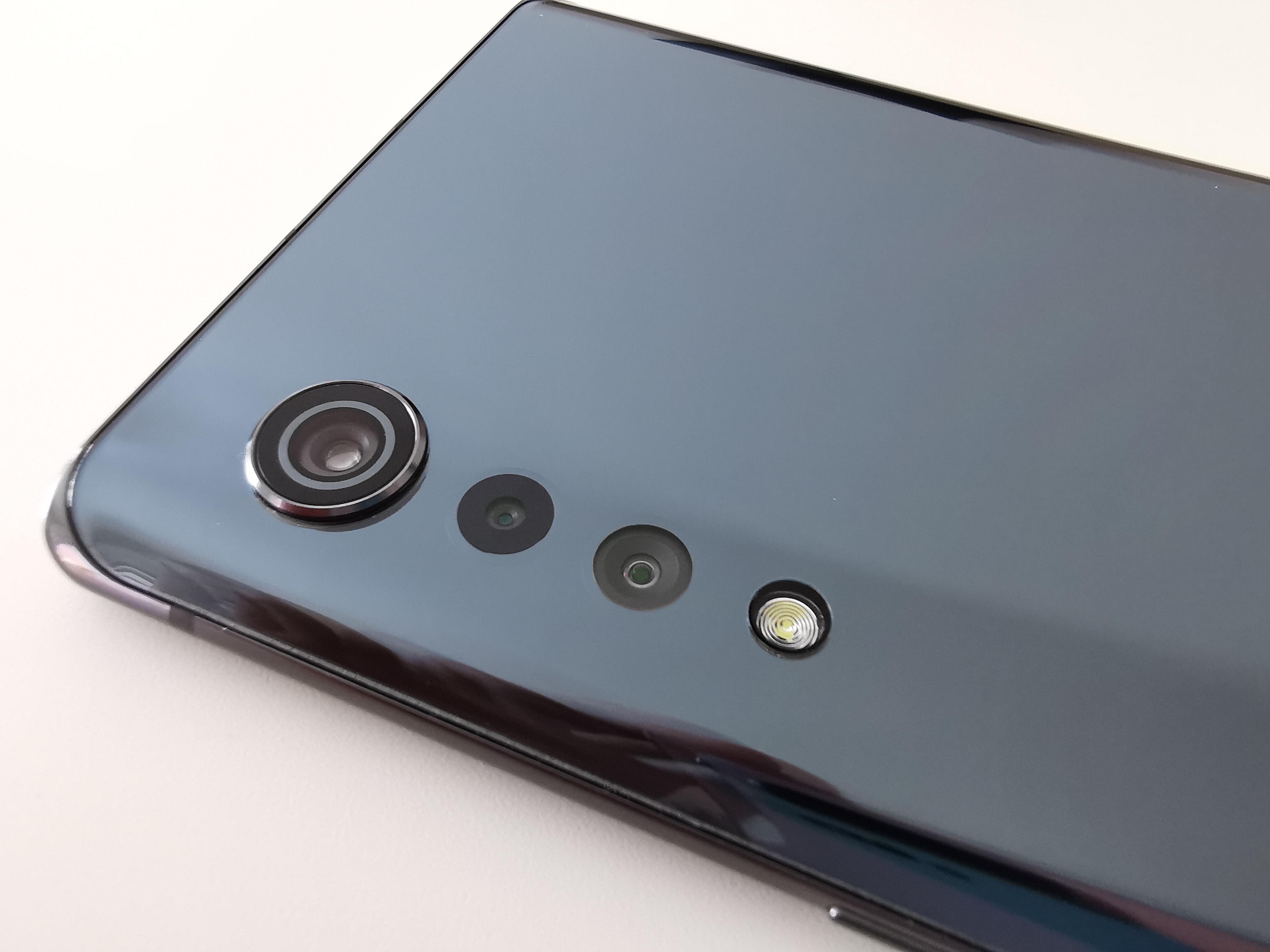LG Velvet Raindrop-Kamera Test