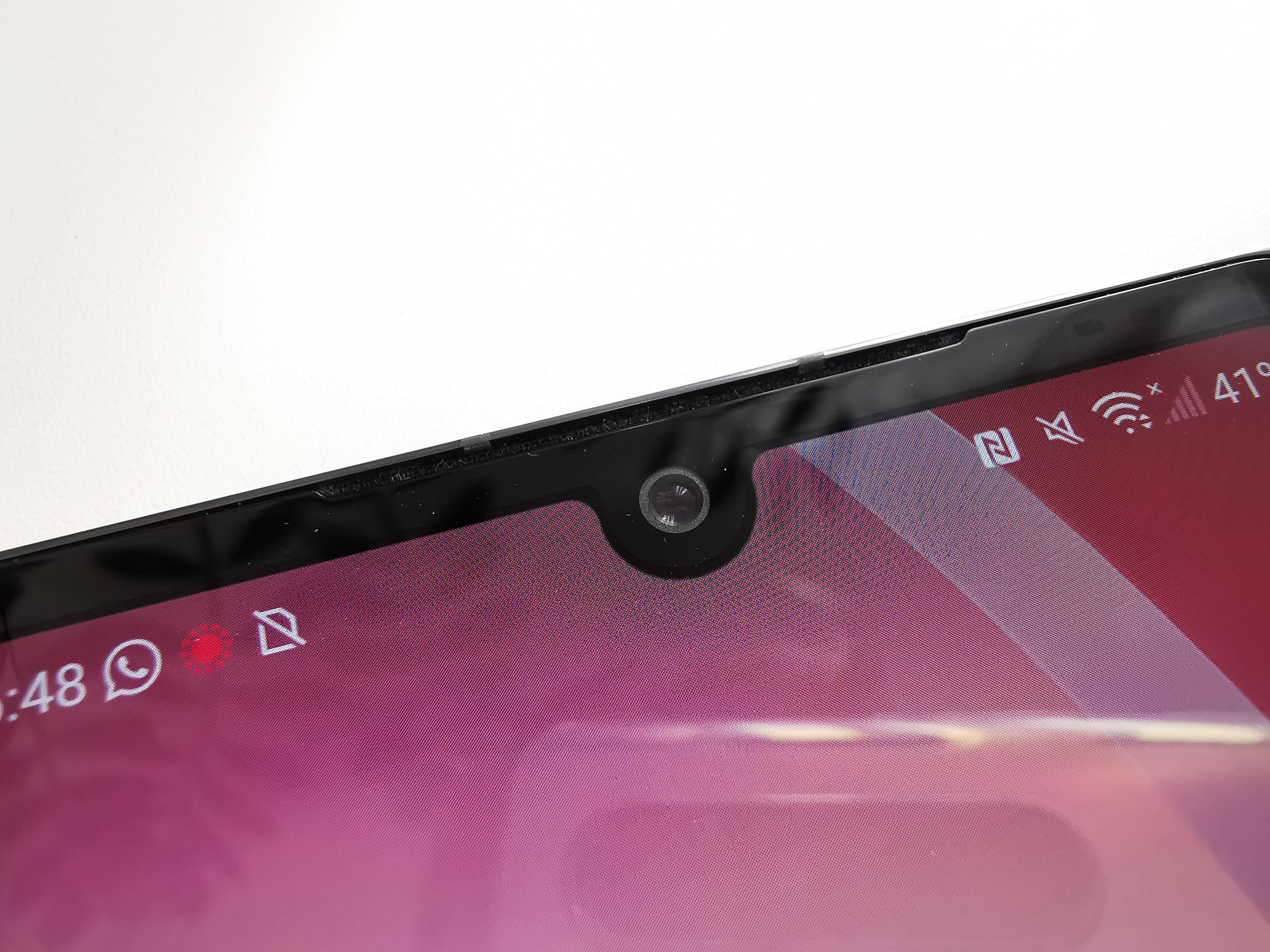 LG Velvet Selfie-Kamera