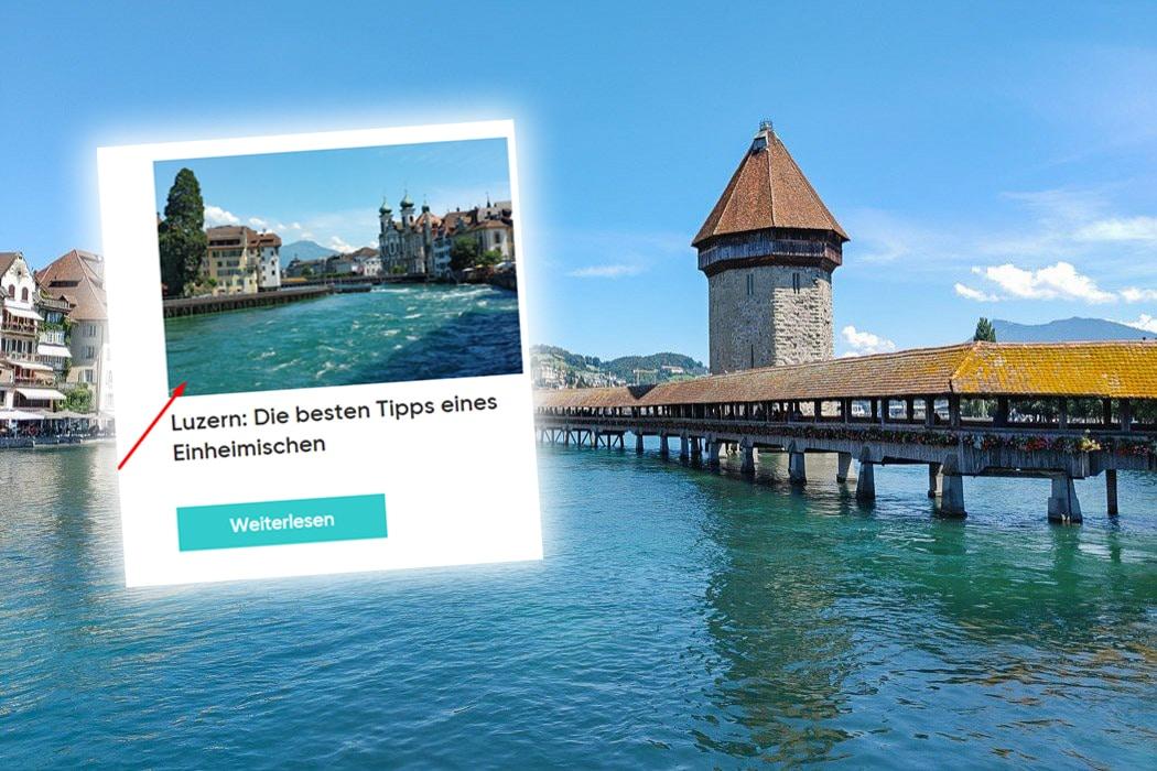 22places Insider-Tipps zu Luzern