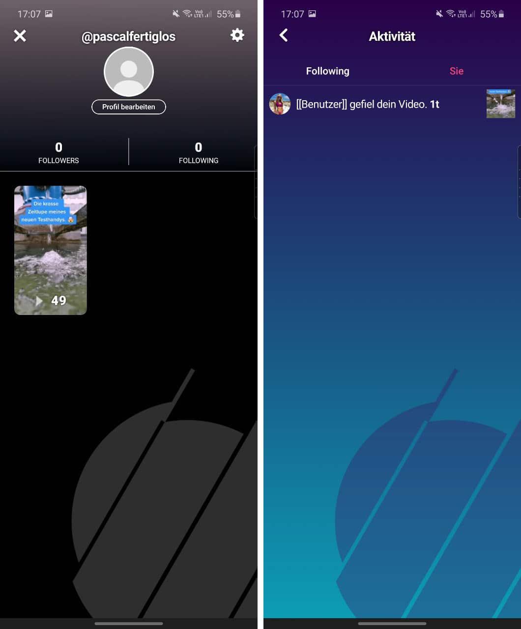 Bild zur Frage: Was ist die Triller App?