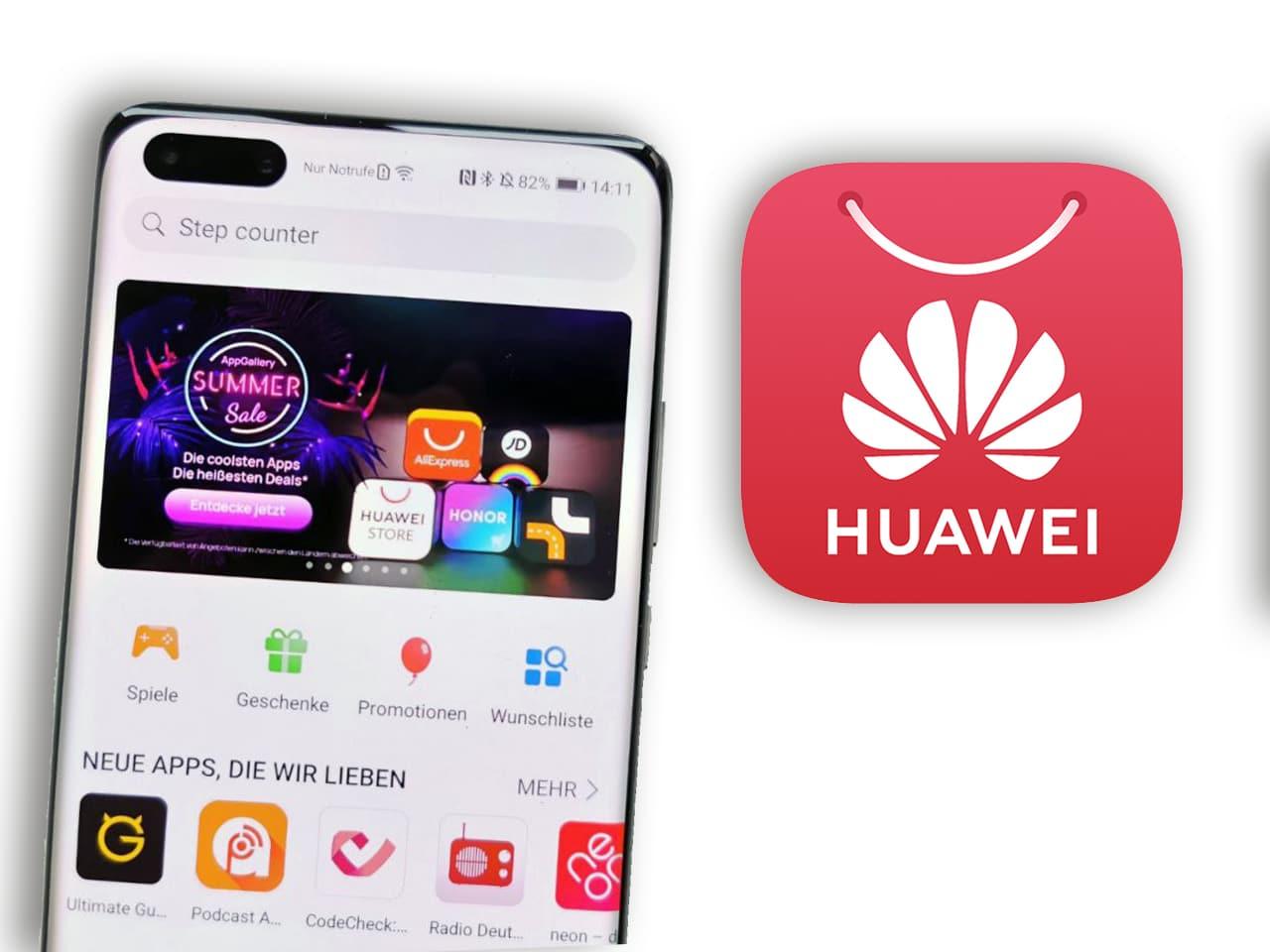 AppGallery von Huawei: Welche Apps gibt es?