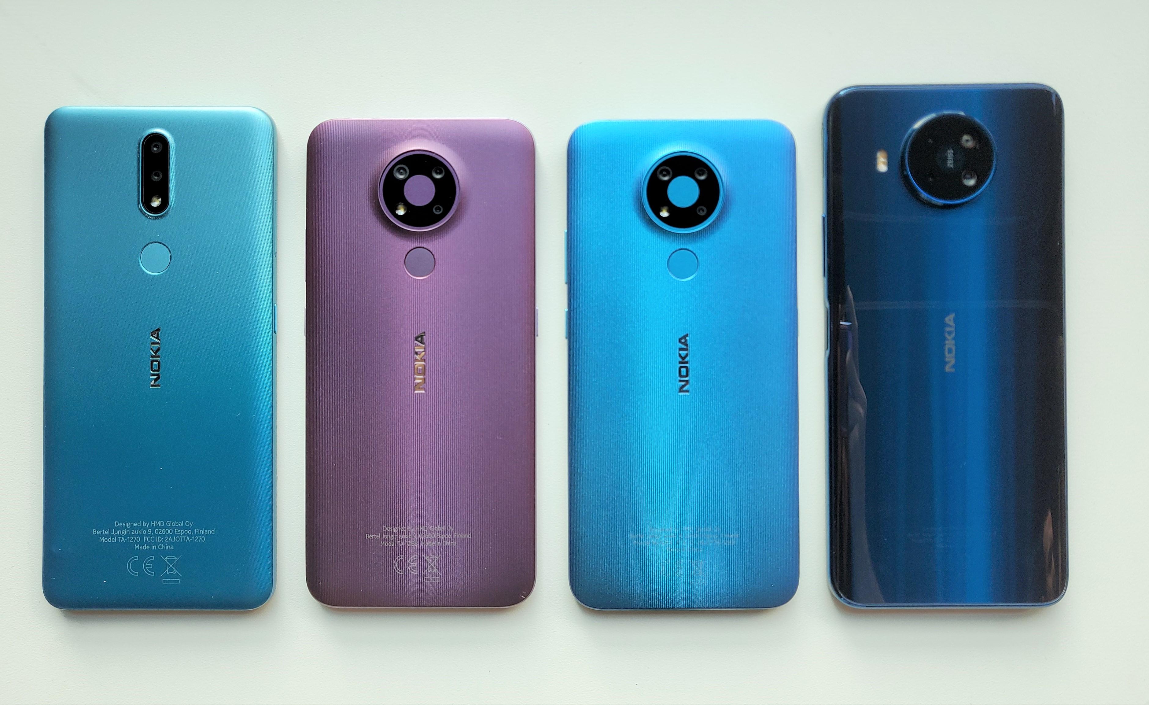Nokia 2.4, Nokia 3.4 und das Nokia 8.3 5G